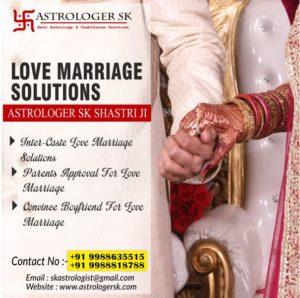 Vashikaran Mantra for Inter-caste Marriage